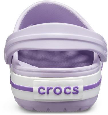 Boty CROCBAND CLOG KIDS  lavender/neon purple, Crocs - 5
