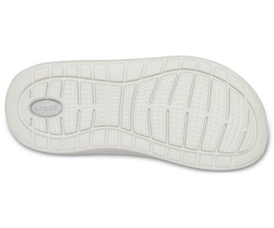 Boty LITERIDE CLOG M12 smoke/pearl white, Crocs - 5