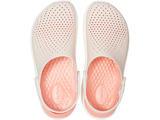 Boty LITERIDE CLOG M8/W10 barely pink/white, Crocs - 5/6