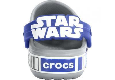Boty STAR WARS R2D2 CLOG C6/7 light grey/cerulean blue, Crocs - 5