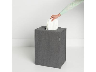 Taška na prádlo 55l, tm. šedý melír, Brabantia     - 5