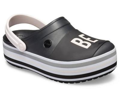 Boty CB PLATFORM BOLD COLOR CLOG M4/W6 black, Crocs - 5