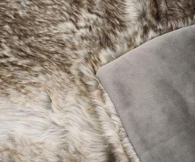 Kožešinová deka  150x200, vzor medvěd KODIAK, Gözze - 5