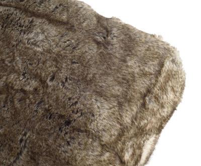 Kožešinová deka  150x200, vzor VLK, Gözze - 5
