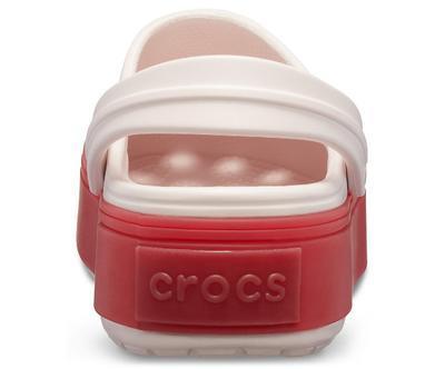 Boty CROCBAND PLATFORM CLOG M4/W6 barely pink/pepper, Crocs - 5