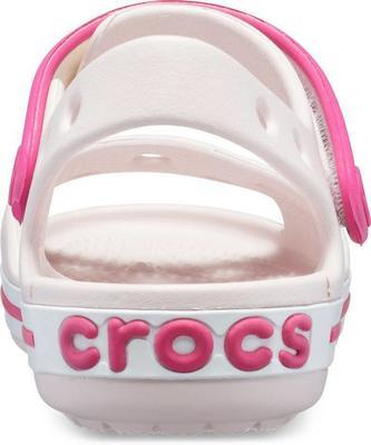 Sandály CROCBAND SANDAL KIDS C13 barely pink/candy pink, Crocs - 5