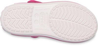 Sandály CROCBAND SANDAL KIDS J1 barely pink/candy pink, Crocs - 5
