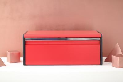 Chlebník FALL FRONT - zářivě červená, Brabantia - 6