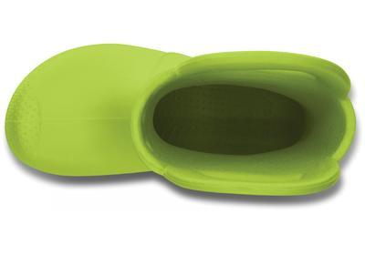 Holínky HANDLE IT RAIN BOOT KIDS C11 volt green, Crocs - 6