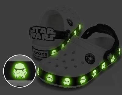 Boty STAR WARS STORMTROOPER CLOG C8/9 white/black, Crocs - 6