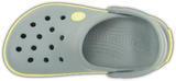 Boty CROCBAND KIDS C10/11 concrete/chartreuse, Crocs - 6/6