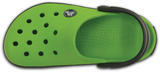 Boty CROCBAND KIDS C6/7 volt green/graphite, Crocs - 6/6
