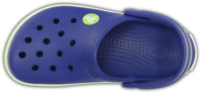 Boty CROCBAND KIDS C6/7 cerulean blue/volt green, Crocs - 6