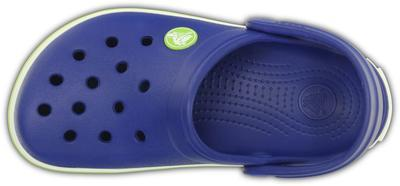 Boty CROCBAND KIDS J1 cerulean blue/volt green, Crocs - 6