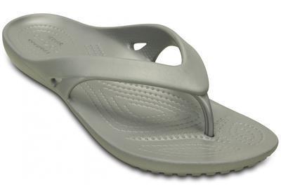 Žabky WOMEN'S KADEE II FLIP W5 silver, Crocs - 6