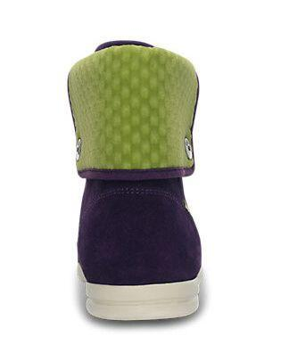 Tenisky LOPRO SUEDE HI-TOP SNEAKER W10 mulberry/green apple, Crocs - 6