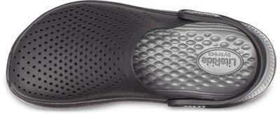 Boty LITERIDE CLOG M9/W11 black/slate grey, Crocs - 6