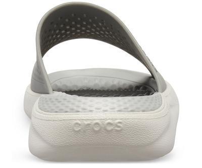 Pantofle LITERIDE SLIDE M11 smoke/pearl white, Crocs - 6