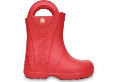 Holínky HANDLE IT RAIN BOOT KIDS J2 red, Crocs - 6