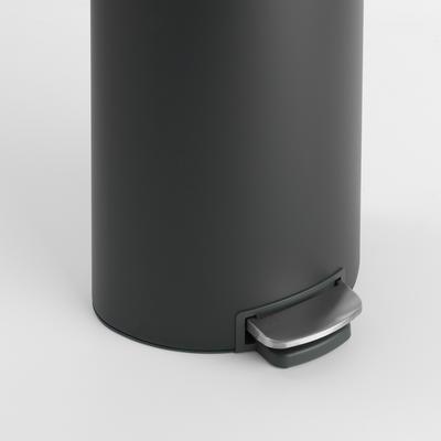 Pedálový koš FlatBack + Silent 30l, minerální tmavě šedá , Brabantia    - 6