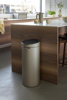 Odpadkový koš Touch Bin 30l, champagne, Brabantia - 6