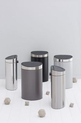 Koš odpadkový TOUCH BIN NEW 40 l - matná ocel, Brabantia - 6