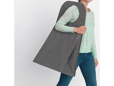 Taška na prádlo 55l, tm. šedý melír, Brabantia     - 6