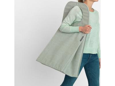 Taška na prádlo 55 l - zelený melír, Brabantia      - 6