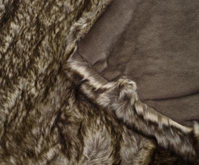 Kožešinová deka  150x200, vzor VLK, Gözze - 6
