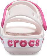 Sandály CROCBAND SANDAL KIDS J1 barely pink/candy pink, Crocs - 6/6