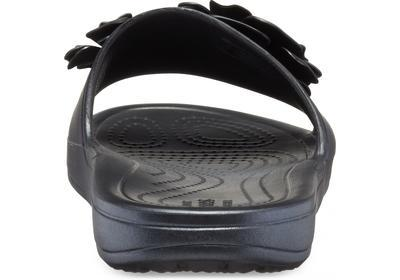Pantofle SLOANE VIVIDBLOOMS SLD W5 black/black, Crocs - 7