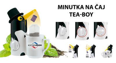 Minutka s vytáhnutím čaje TEA-BOY Tučňák 21 cm, Küchenprofi - 7