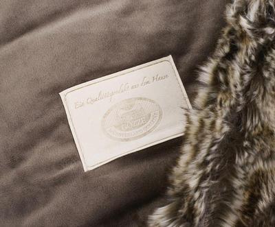 Kožešinová deka  150x200, vzor VLK, Gözze - 7